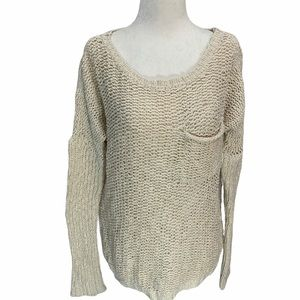 Roxy 100% Cotton Long Sleeved Sweater Size…